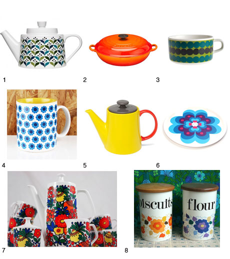 Retro Kitchenware