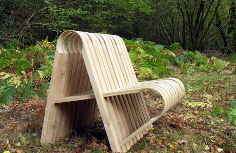 Hairpin bench by Andrew Trotman