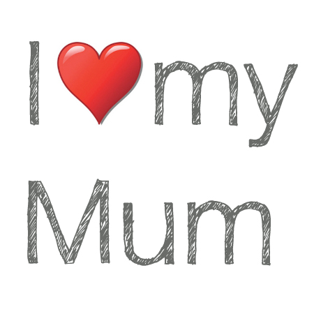 I love my Mum_Mary Middleton Design