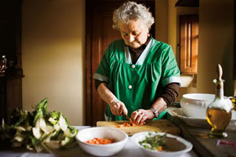 Italian Grandmother Cooking