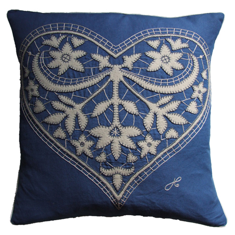 Jan-Constantine-Lacy-Heart-Cushion