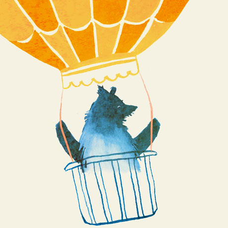 Joanna Boyle bear with balloon