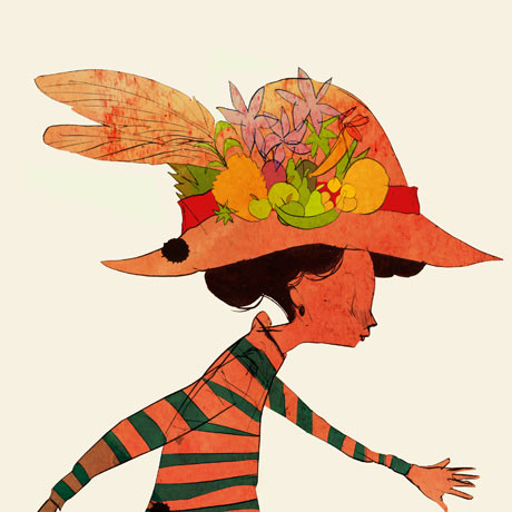 Joanna Boyle girl with hat