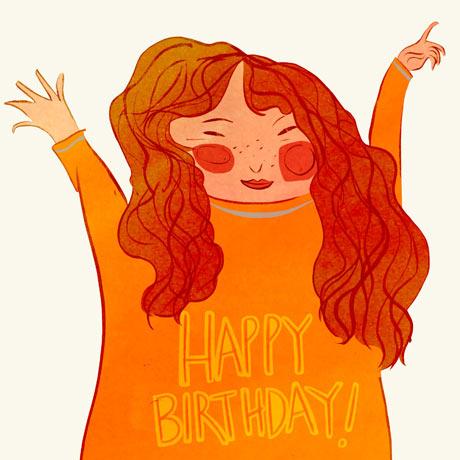 Joanna Boyle happy birthday girl