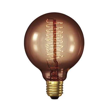 John Lewis Calex Decorative Bulb , Goldline Globe, 35W ES £12