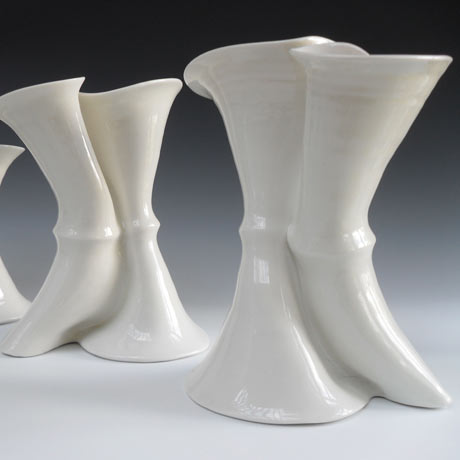 Karen Morgan Curling Vases