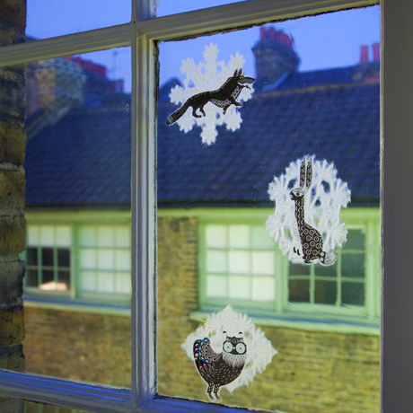 Klaus Haapaniemi snowflake paper decoration