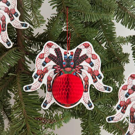 Klaus Haapaniemi spider card paper decoration