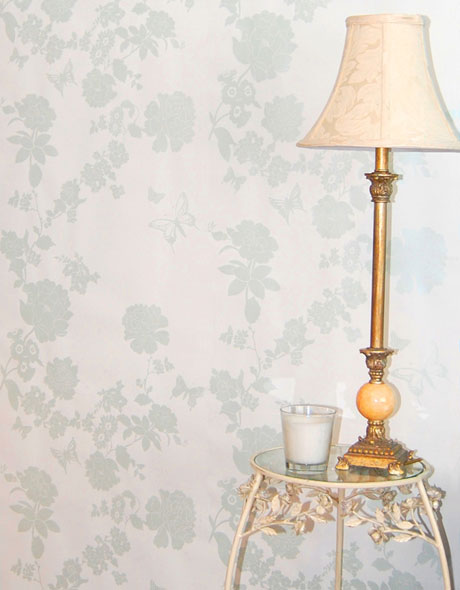 Laura-Felicity---Pretty-Flower-wallpaper-Duck-Egg-Blue