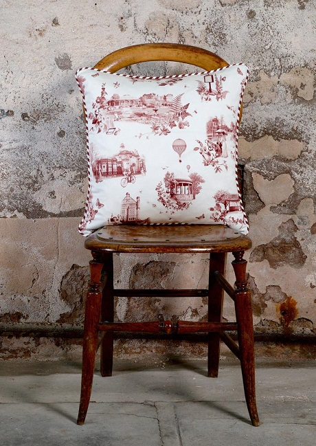 Limelace.co.uk HARROGATE TOILE CUSHION