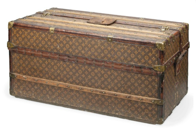 Louis Vuitton Trunk 1915 Image Christies