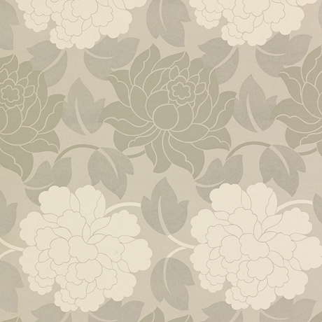 Maggie Levien Wallpaper for John Lewis - Viola