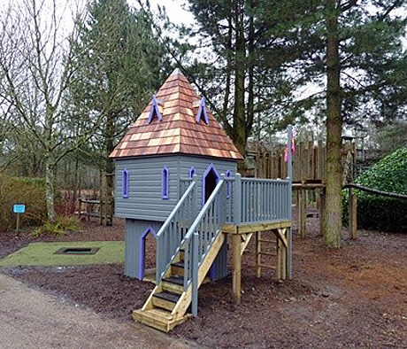 Magical turret by The Playhouse Company