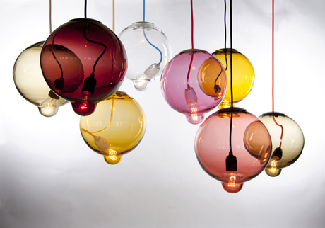 Melt down lamps by Johan Lindstén Form