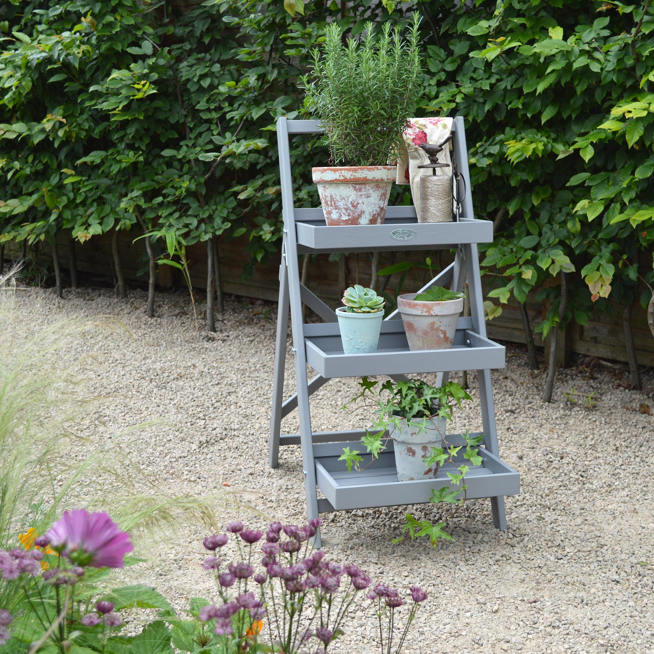 MiaFleur- Grey Plant Stand £78.95 (2)