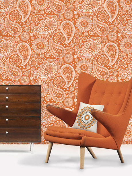 Mini Moderns Paisley Crescent