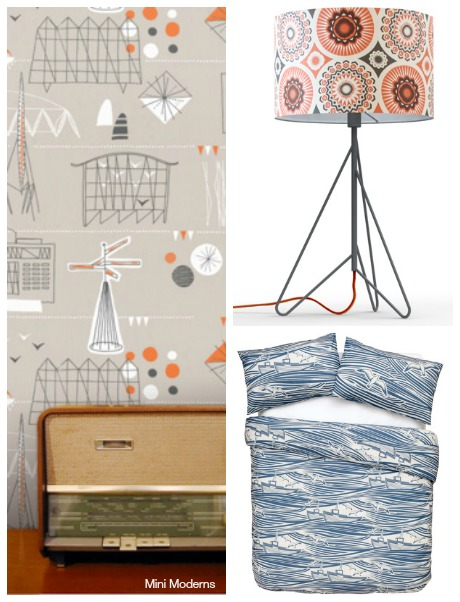 Mini Moderns showing at Sarah Hamilton open house as part of the Dulwich Festival 2014