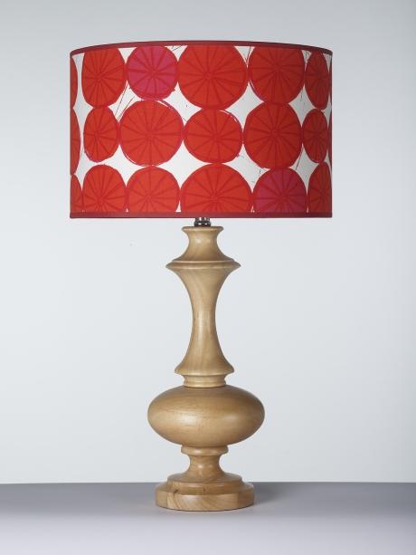 Mintprint lampshade