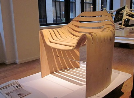Naruse Inokuma Architects one sheet chair