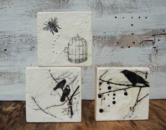 Original Encaustic Mini Paintings