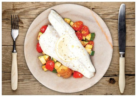 Oven Baked Sea Bream via Hello Fresh