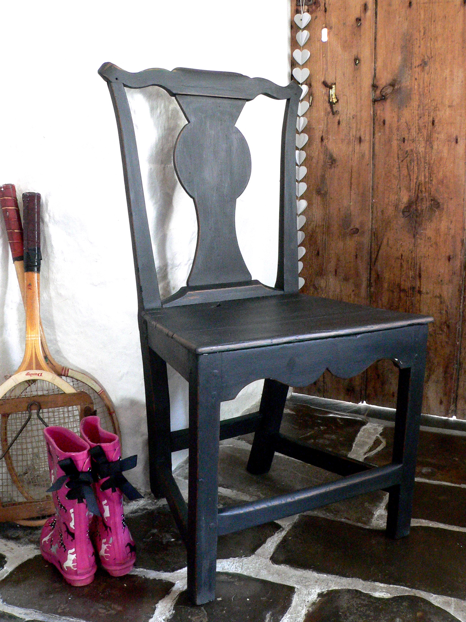 Antique side chair from peastyle