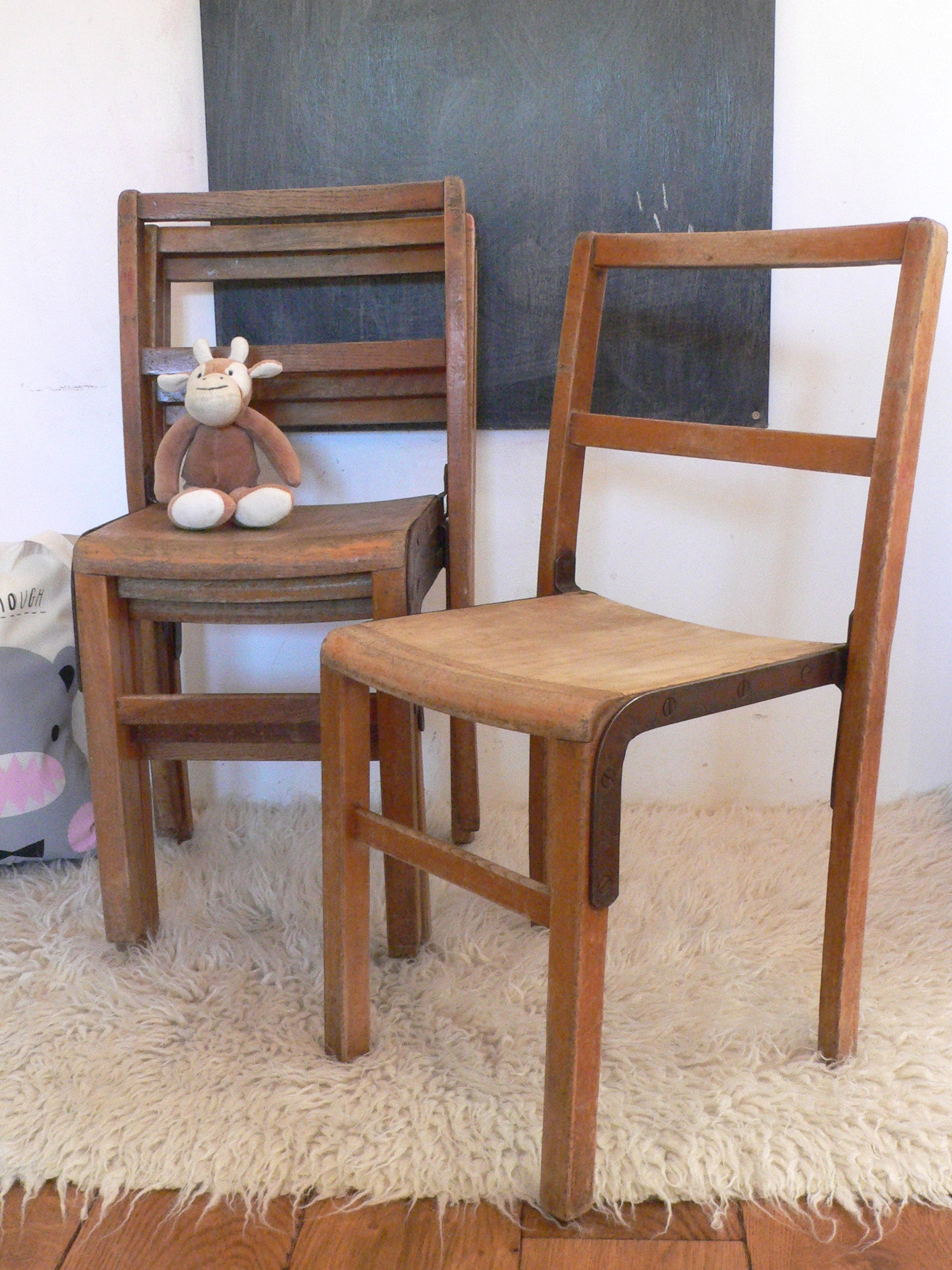 Vintage Nursery School Chair from peastyle