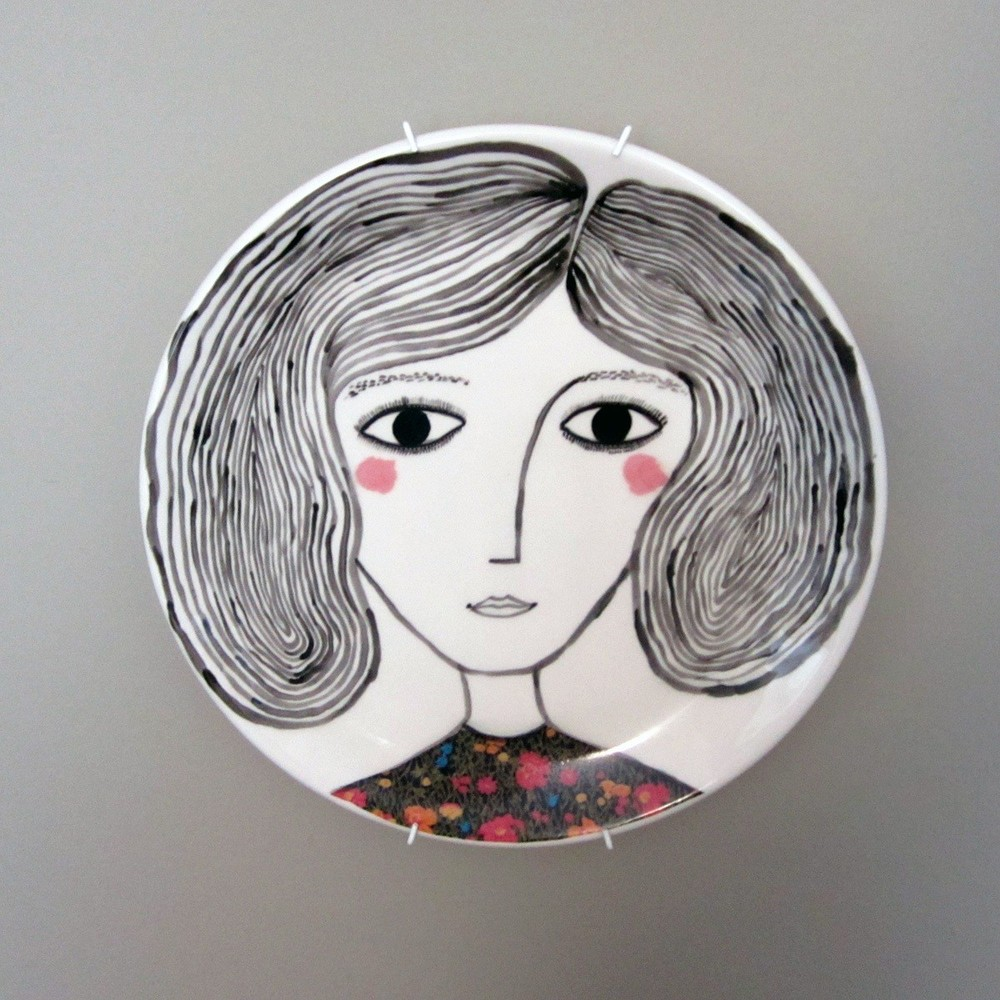 Pink Cheeks Plate