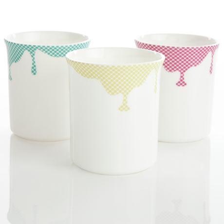 Reiko Kaneko 3 cups bright drips