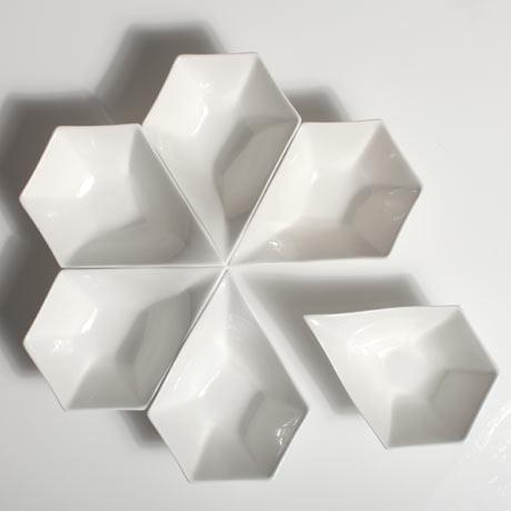 Reiko Kaneko petal bowls
