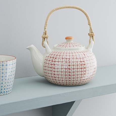 Rigby and Mac Retro Danish Tableware - teapot