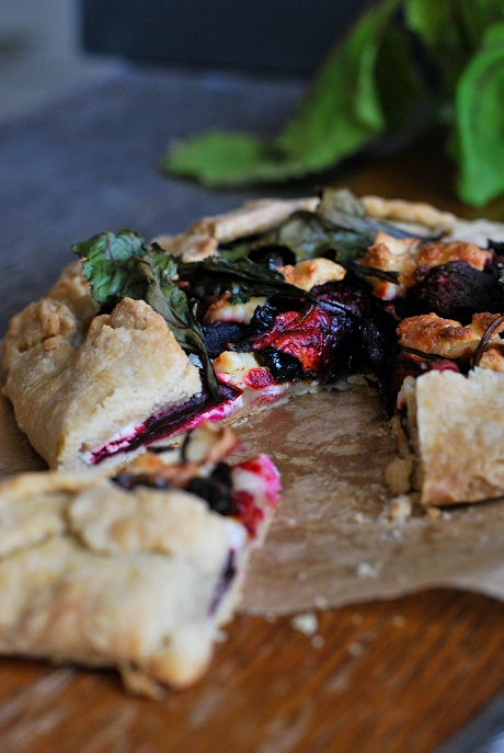 Rustic Beet Tart via Heart Home magazine [2]