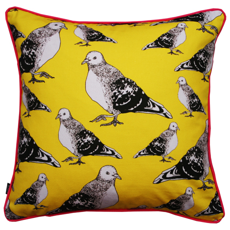 Sarah Jayne Guest pigeon cushion