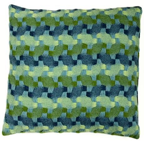 Sally Weatherall kaleidoscope cushion
