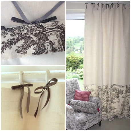 Sarah Hardaker ready made curtain panels [2]