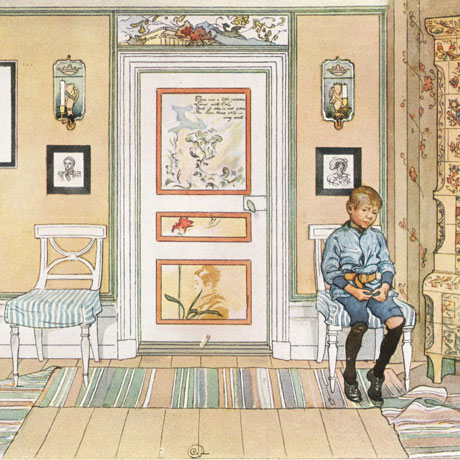 Carl Larsson Skamvrån (in the corner)