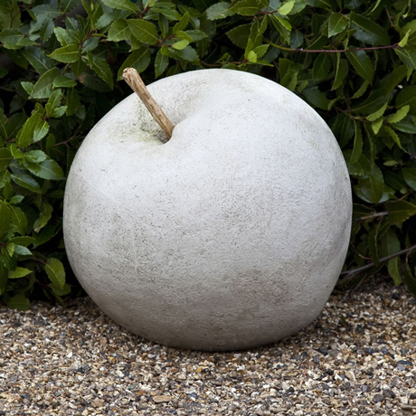 Stone apple from Garden Art