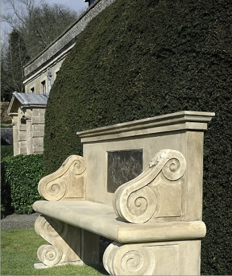 Stone bench by Cavendish stone