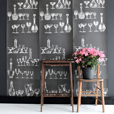 Deborah Bowness Glassware wallpaper