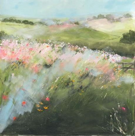 Sue Fenlon Wild flower pathway