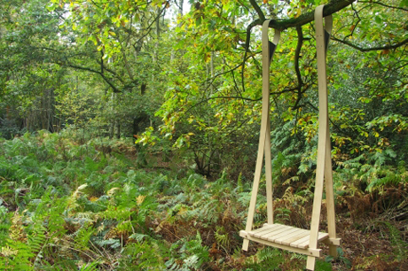 Swing seat by Andrew Trotman