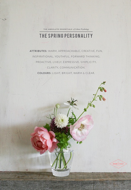 The spring personality via the brand-stylist