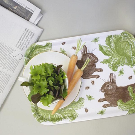 Thornback and Peel Rabbit and Cabbage Tray