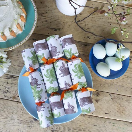 Thornback and Peel Table Crackers for Easter