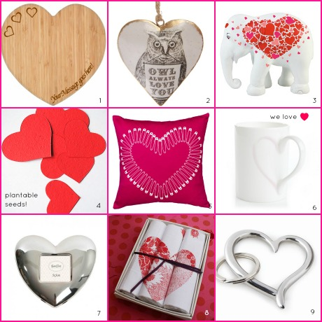 Valentines Gifts from Heart Home magazine