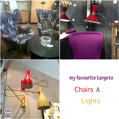 Vintage chairs & lights_Mary Middleton Design