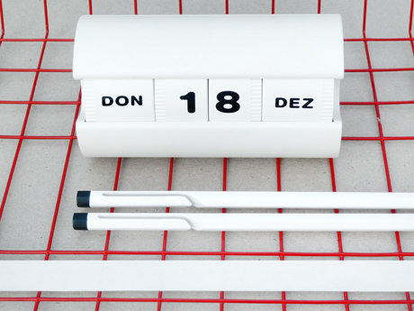 White Calendar Calendar from Present and Correct