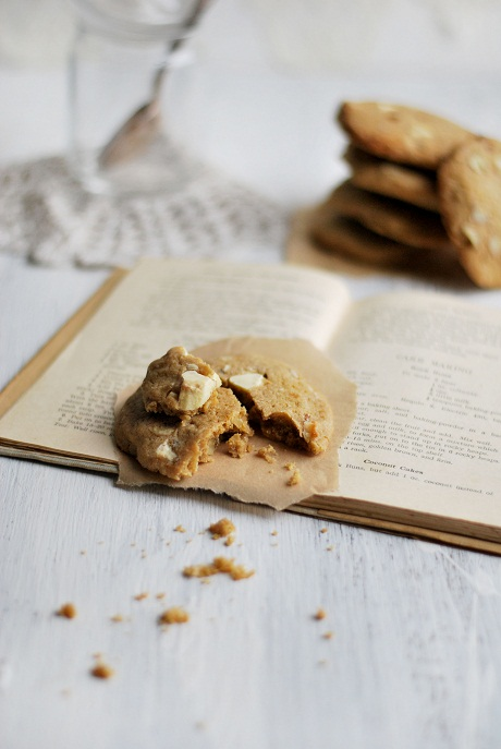 White Chocolate and Pecan Biscuits via Heart Home mag [2]