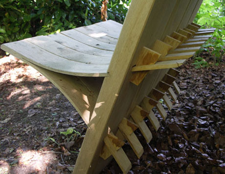 Wishbone seat by Andrew Trot,am