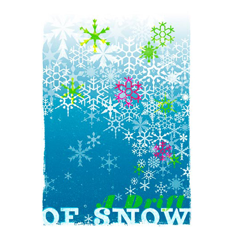 Woop Studio's Snow Christmas card